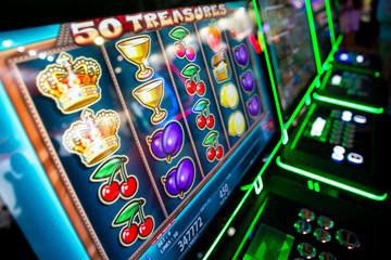 Casino Crossbody Purse Purple Slot Machine Bag